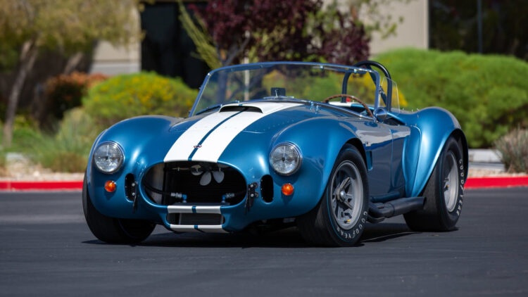 1967 Shelby 427 S/C Cobra Roadster led the results at Mecum Indy 2021 sale