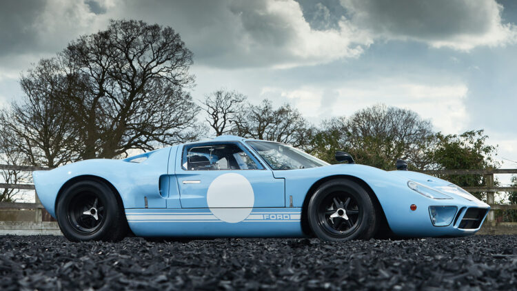 1969 Ford GT40 on offer in the Gooding Geared Online UK June 2021 sale