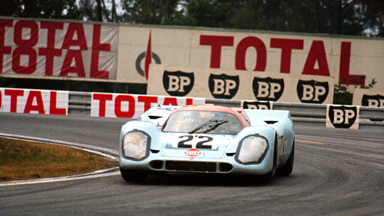 1970 Porsche 917K, chassis no. 917 026 at Le Mans
