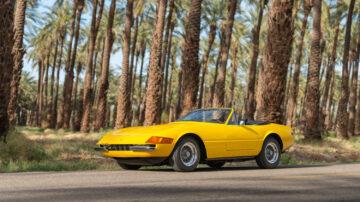Ferrari 365 GTS/4 Daytona Spider on offer in RM Sotheby's Amelia Island 2021 classic car auction