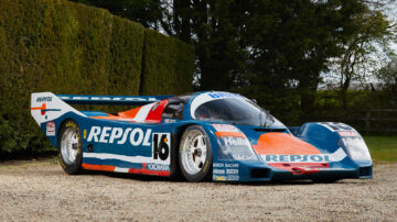 1990 Porsche 962C on offer in the Gooding Geared Online UK June 2021 sale