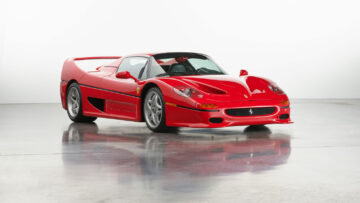1995 Ferrari F50 on offer in RM Sotheby's Amelia Island 2021 classic car auction