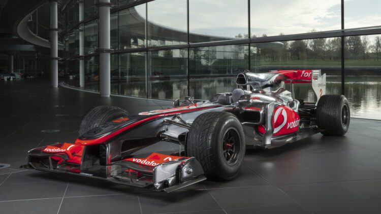 2010 McLaren Mercedes MP4-25A Formula 1® Race Caron Offer at RM Sotheby's Silverstone 2021 Sale