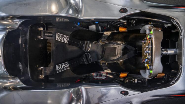 2010 McLaren Mercedes MP4-25A Formula 1® Race Car Cockpit