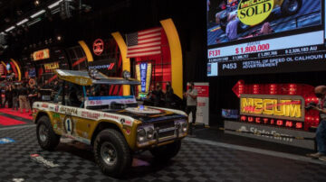 Parnelli Jones' 1969 Ford Bronco 'Big Oly' achieved top results at Mecum Indy Sale 2021