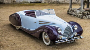 1948 Talbot-Lago T26 Record Sport Cabriolet Décapotable on offer at Bonhams Quail Lodge 2021 sale.
