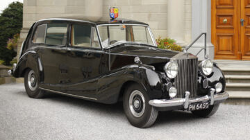 The most expensive car at the RM Sotheby's Liechtenstein 2021 auction was surprisingly the 1954 Rolls-Royce Phantom IV Limousine 'Princess Margaret' by H.J. Mulliner