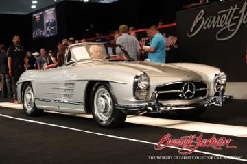 1957 Mercedes-Benz 300SL Roadster top results at Barrett-Jackson Las Vegas 2021 sale