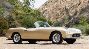 1958 Ferrari 250 GT Series I Cabriolet for sale in the Gooding Pebble Beach 2021 Classic Car Auction during Monterey Week