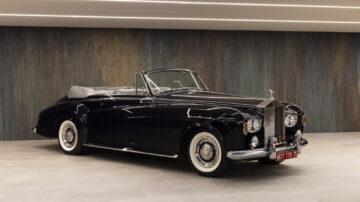 Ex-Sophia Loren 1963 Rolls-Royce Silver Cloud III Drophead Coupé Adaptation by H.J. Mulliner