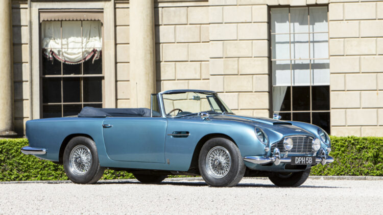 1964 Aston Martin DB5 Convertible on offer at Bonhams Goodwood Festival of Speed sale 2021