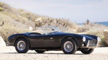 1964 Shelby Cobra 289 on sale in the Gooding Pebble Beach 2021 classic car auction during Monterey Motoring Week