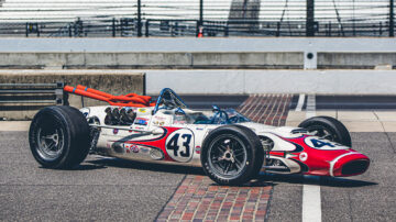 1966 Lola T-90 on sale at the Gooding Pebble Beach 2021 classic car auction