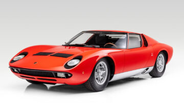 1968 Lamborghini Miura P400 for sale in the Gooding Pebble Beach 2021 Classic Car Auction during Monterey Week