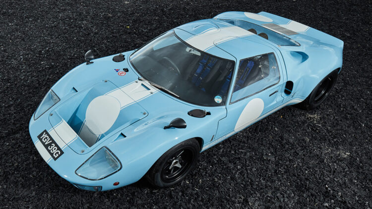 1969 Ford GT40 top results in the Gooding Geared Online UK June 2021 sale