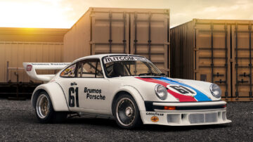 1977 Porsche 934/5 on sale at the Gooding Pebble Beach 2021 classic car auction