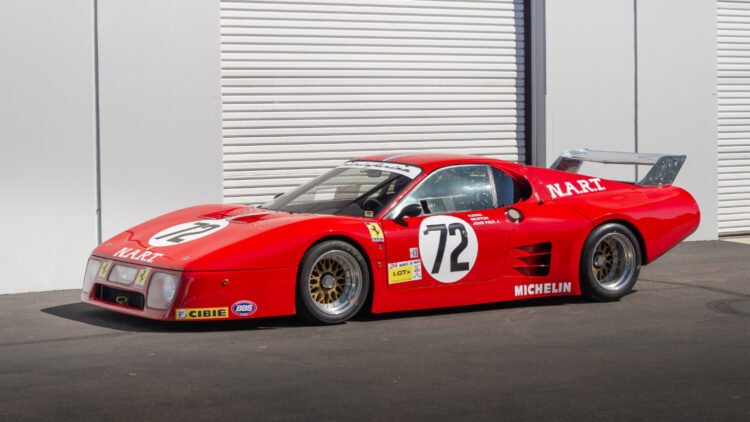 1981 Ferrari 512 BB/LM Le Mans racer for sale in the RM Sotheby's Monterey 2021 auction
