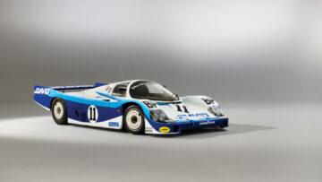 1983 Porsche 956 Group C Le Mans racer for sale in the RM Sotheby's Monterey 2021 auction