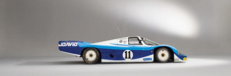 1983 Porsche 956 Group C profile Le Mans racer for sale in the RM Sotheby's Monterey 2021 auction