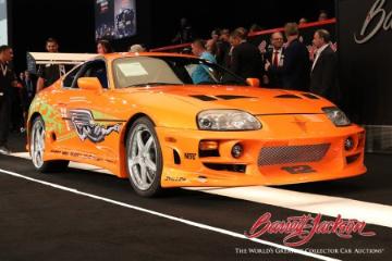 "1994 Toyota Supra – ""Fast & Furious"" Movie Car amongst the top results at Barrett-Jackson Las Vegas 2021 sale"