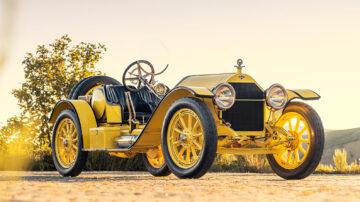 1914 Stutz 4E Bearcat on sale at Gooding Pebble Beach 2021 auction