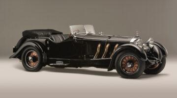 1928 Mercedes-Benz 26/120/180 S-Type Supercharged Sports Tourer on sale at Bonhams Quail Lodge 2021 auction during Monterey / Pebble Beach car week