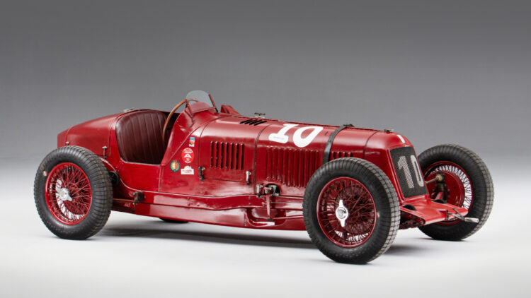 1928 Maserati Tipo 26B 2.1-Litre Sports, Gran Premio and Formule Libre Racing top results at the Bonhams Goodwood Festival of Speed Sale 2021