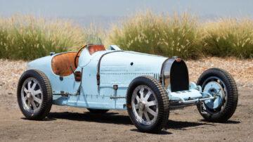 1929 Bugatti Type 35B Grand Prix on sale at Gooding Pebble Beach 2021 auction