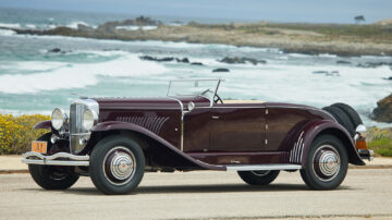 1930 Duesenberg Model J Disappearing-Top Convertible Coupe on sale at Gooding Pebble Beach 2021 auction