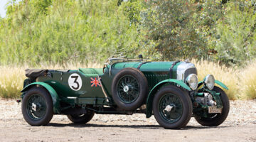 """1931 Bentley 4 1/2 Litre SC """"Blower"""" on sale in the Gooding Pebble Beach classic car auction 2021"""