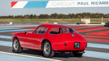 rear 1955 Ferrari 250 GT Berlinetta Competizione on sale in the RM Sotheby's Guikas Collection Auction 2021