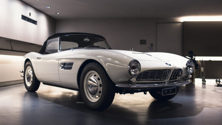 1958 BMW 507 Series II on sale in RM Sotheby's St Moritz Switzerland auction 2021