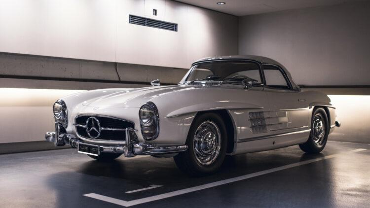 1961 Mercedes-Benz 300SL Roadster on sale in RM Sotheby's St Moritz Switzerland auction 2021