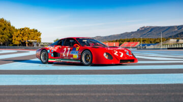 1981 Ferrari 512 BB/LM for sale in the RM Sotheby's Guikas Collection 2021 auction at Paul Ricard Circuit in France