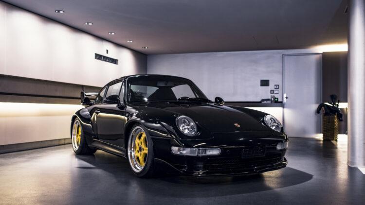 1996 Porsche 993 GT2 Clubsport on sale in RM Sotheby's St Moritz Switzerland auction 2021