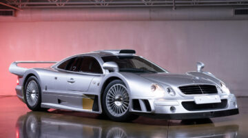 1998 Mercedes-Benz AMG CLK GTR Strassenversion on sale at Gooding Pebble Beach 2021 classic car auction
