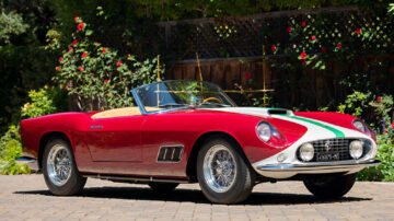1959 Ferrari 250 GT LWB California Spider Competizione on sale at Gooding Pebble Beach 2021 classic car auction
