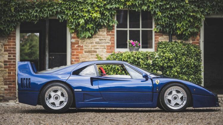 1989 Ferrari F40 BLU
