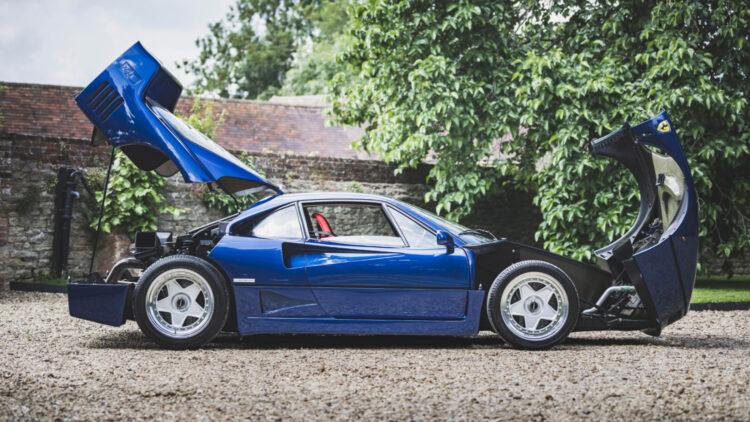 1989 Ferrari F40 BLU open