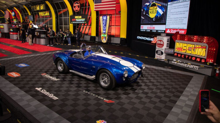 1967 Shelby 427 Semi Competition Cobra among the top 12 results at the Monterey Mecum 2021 sale
