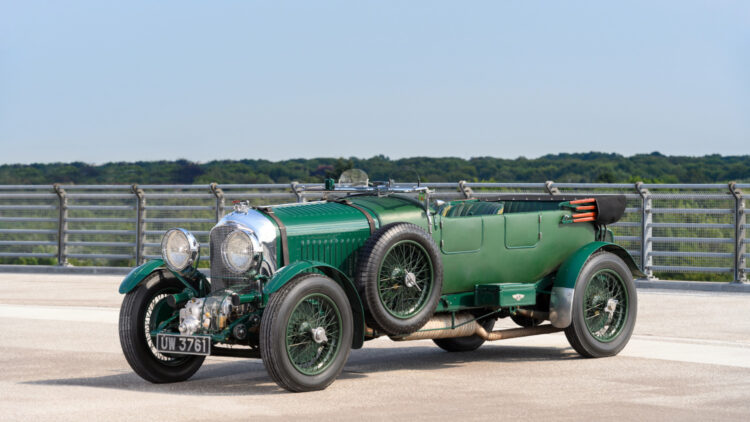 1930 Bentley 4½-Litre Supercharged Tourer on sale in the RM Sotheby's London 2021 classic car auction