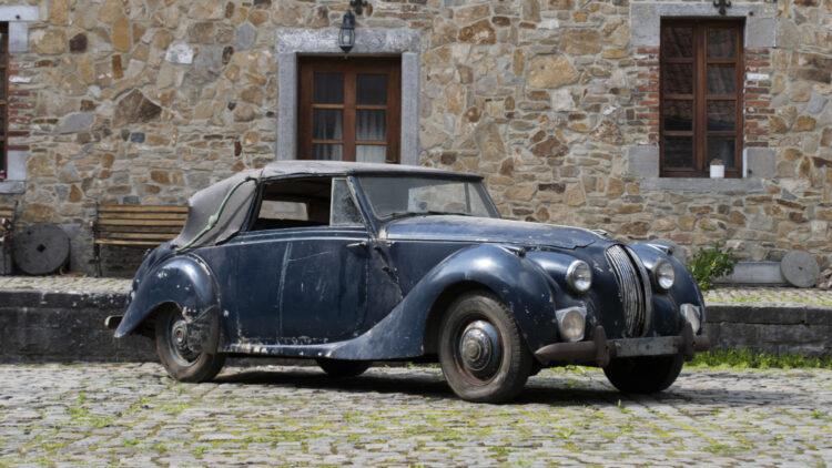 1951 Lagonda 2.6-Litre Drophead Coupe on sale at Bonhams The Zoute Sale 2021 classic car auction in Belgium