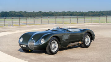 1952 Jaguar C-Type on sale in the RM Sotheby's London 2021 classic car auction