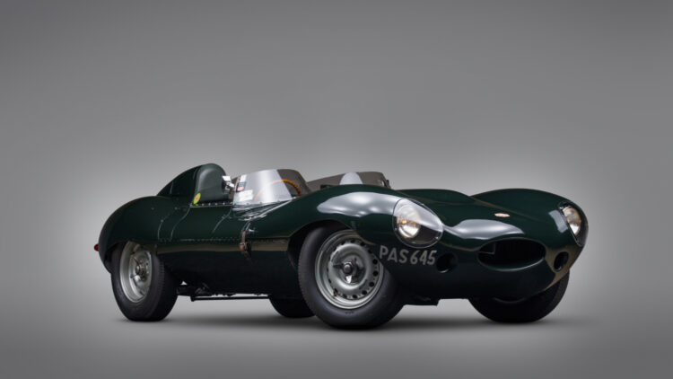 1955 Jaguar D-Type from the Andrews Collection on sale at RM Sotheby's Monterey 2021 auction