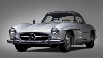 1957 Mercedes-Benz 300 SL Gullwing from the Andrews Collection on sale at RM Sotheby's Monterey 2021 auction