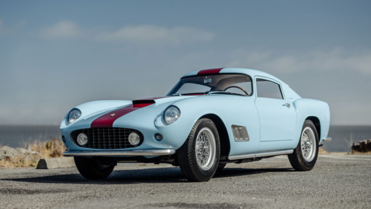1958 Ferrari 250 GT LWB Berlinetta 'Tour de France' on sale at RM Sotheby's Monterey 2021 classic car auction