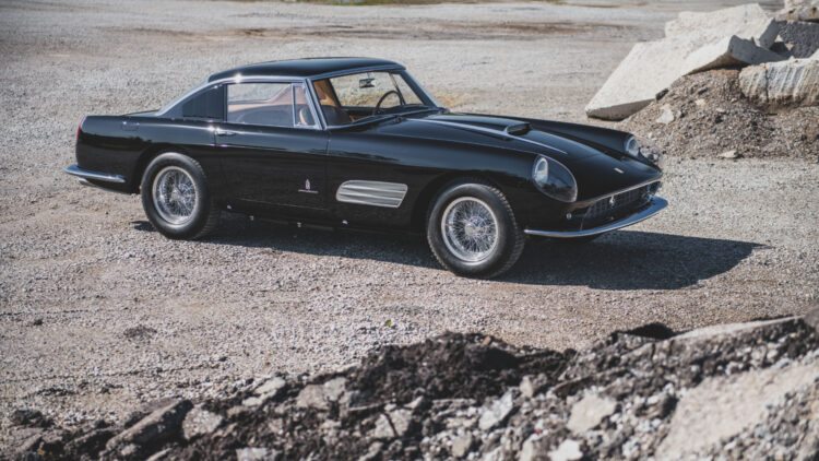 1959 Ferrari 410 Superamerica Coupe Series III on sale at RM Sotheby's Monterey 2021 classic car auction