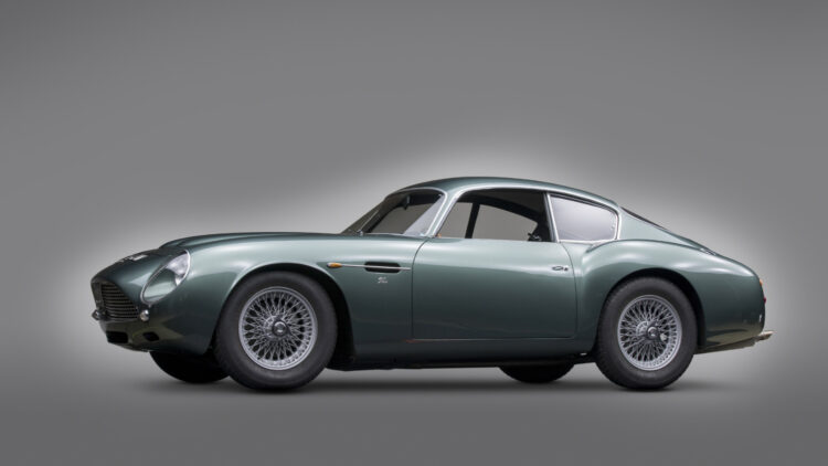 1961 Aston Martin DB4GT Sanction II from the Andrews Collection on sale at RM Sotheby's Monterey 2021 auction