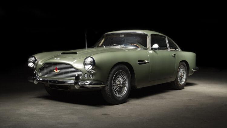 1962 Aston Martin DB4 Series 3 Saloon on sale at Bonhams The Zoute Sale 2021 classic car auction in Belgium