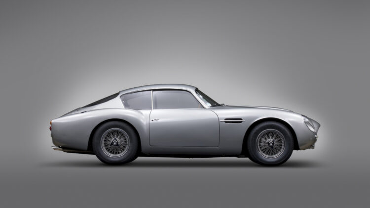 1961 Aston Martin DB4GT by Zagato from the Andrews Collection on sale at RM Sotheby's Monterey 2021 auction